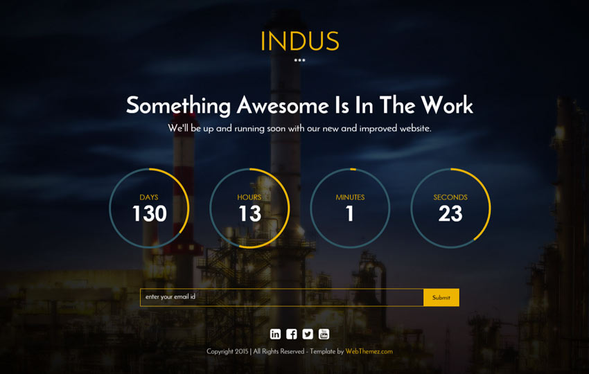 Indus Pre-launch Page