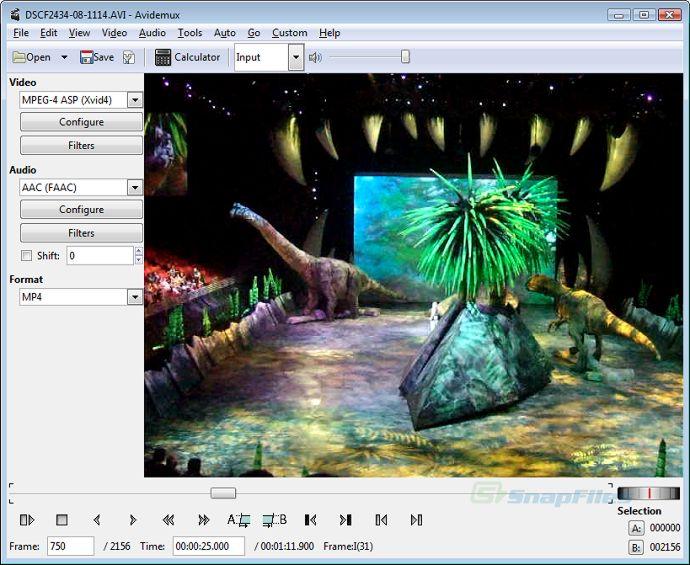 Avidemux Video Editing Software