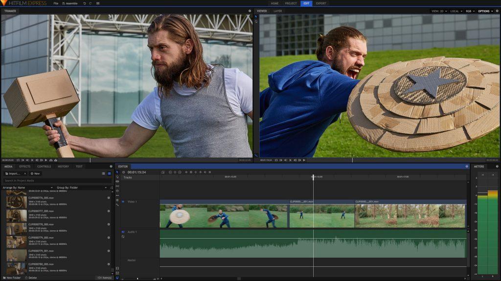 HitFilm Express Video Editing Software