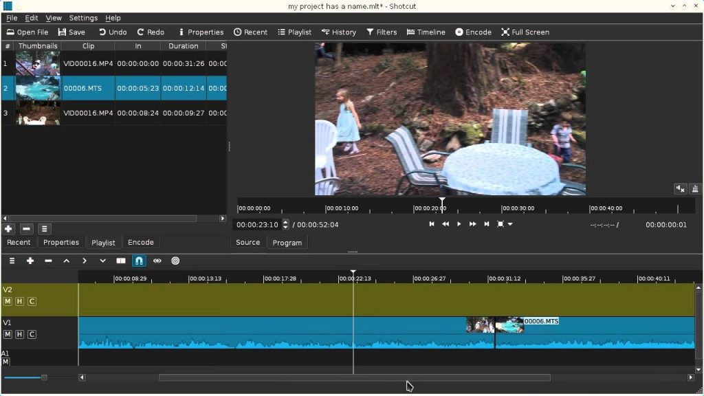 Shortcut Video Editing Software