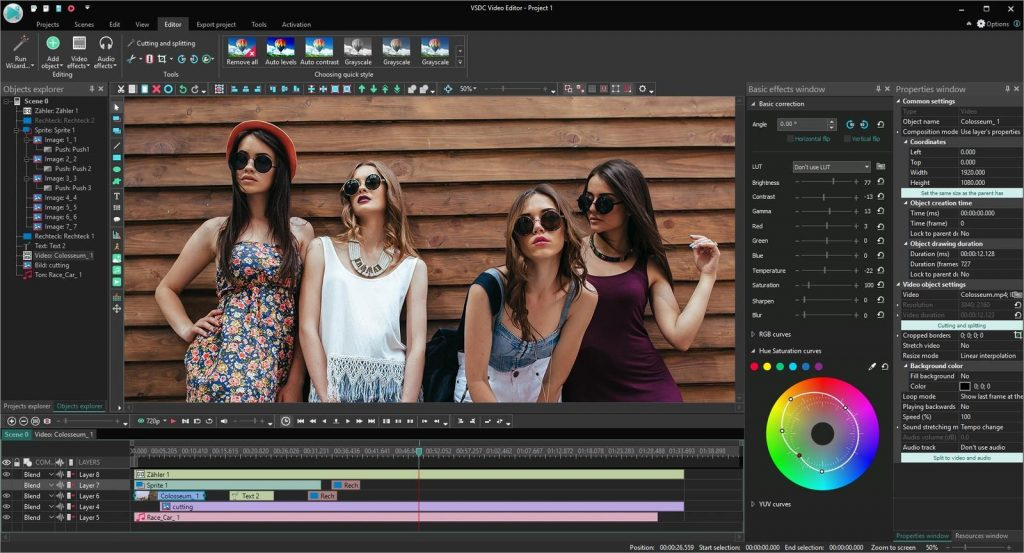 VSDC Video Editing Program
