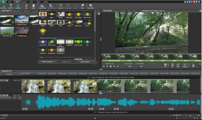 VideoPad Video Editing Program