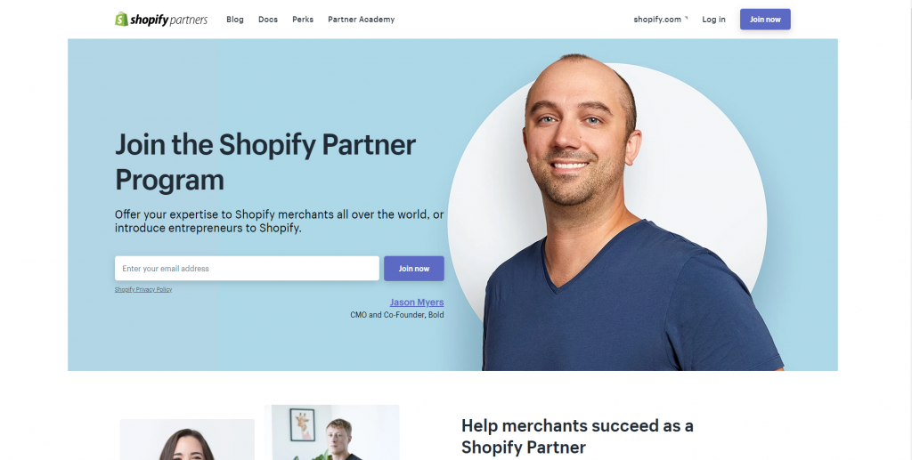 What are Shopify Partners?
