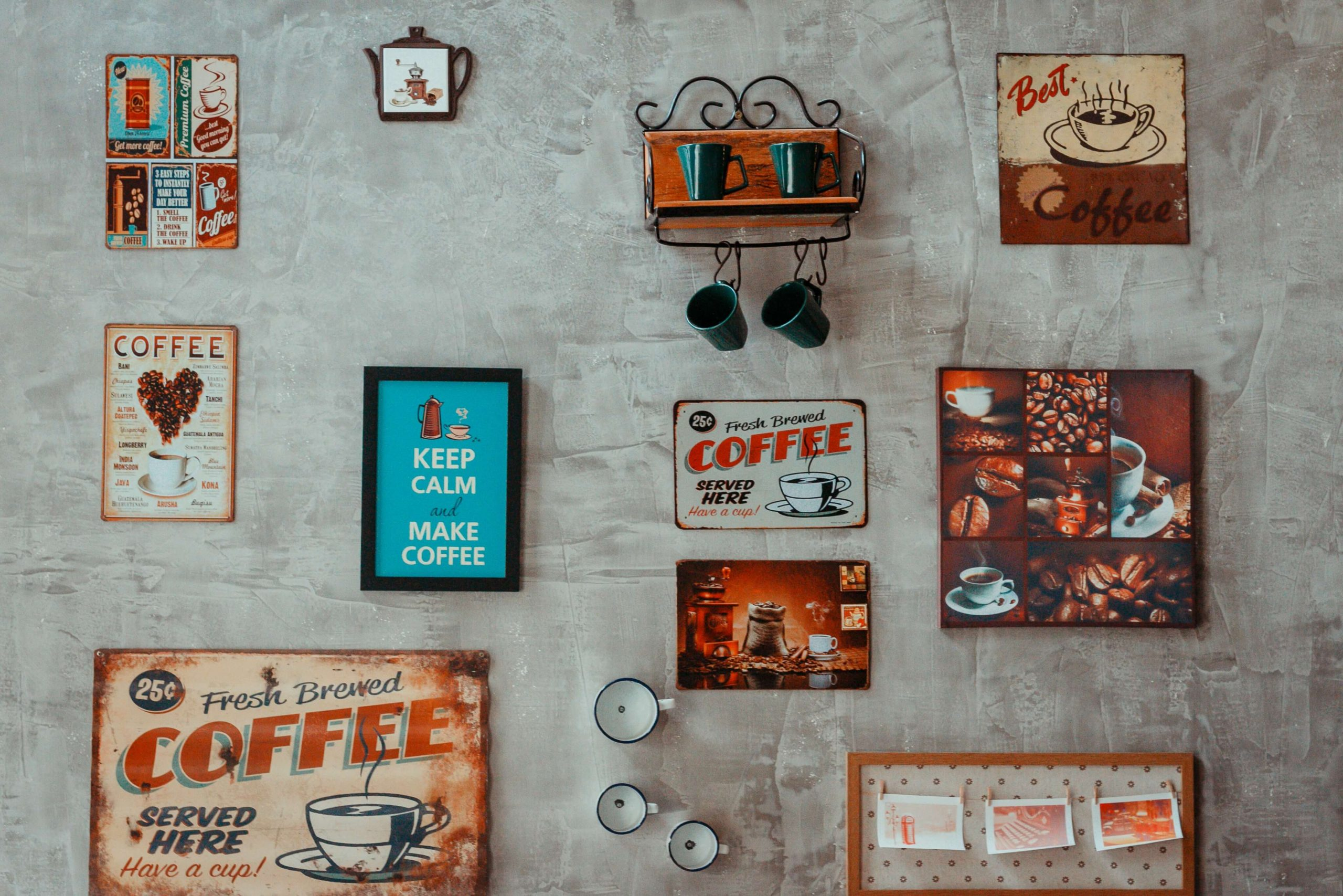 Selling coffee has severe competition; but it is still prospering thanks to increasing demands and the room for product development